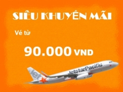 Vé máy bay giá rẻ Hải Phòng đi Đà Lạt của Jetstar