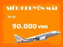 Vé máy bay giá rẻ Đồng Hới đi Đà Lạt của Jetstar
