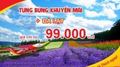 Vé máy bay giá rẻ Hà Nội đi Đà Lạt của Vietjet Air