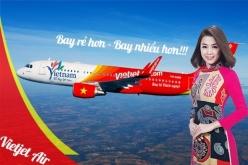 Vé máy bay giá rẻ đi Đồng Hới của Vietjet Air giá chỉ 399.000 đồng Vé máy bay giá rẻ đi Đồng Hới của Vietjet Air