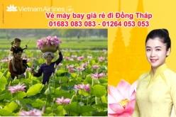 Đặt vé máy bay giá rẻ Sài Gòn đi Đồng Tháp Vé máy bay giá rẻ Sài Gòn đi Đồng Tháp