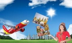Vé máy bay giá rẻ đi Rạch Giá của Vietjet Air giá chỉ từ 350.000 đồng Vé máy bay giá rẻ đi Rạch Giá của Vietjet Air