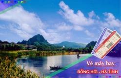 Đặt vé máy bay giá rẻ Đồng Hới đi Hà Tĩnh Vé máy bay giá rẻ Đồng Hới đi Hà Tĩnh