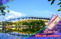 Đặt vé máy bay giá rẻ Đồng Hới đi Nam Định Vé máy bay giá rẻ Đồng Hới đi Nam Định