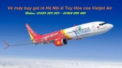 Vé máy bay giá rẻ Hà Nội đi Tuy Hòa của Vietjet Air