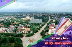 Đặt vé máy bay giá rẻ Hà Nội đi Tuyên Quang Vé máy bay giá rẻ Hà Nội đi Tuyên Quang