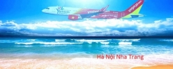 Vé máy bay giá rẻ Hà Nội Nha Trang của Vietjet Air