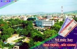 Đặt vé máy bay giá rẻ Nha Trang đi Bắc Giang Vé máy bay giá rẻ Nha Trang đi Bắc Giang