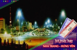 Đặt vé máy bay giá rẻ Nha Trang đi Hưng Yên Vé máy bay giá rẻ Nha Trang đi Hưng Yên