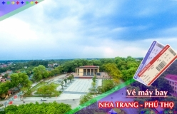 Đặt vé máy bay giá rẻ Nha Trang đi Phú Thọ Vé máy bay giá rẻ Nha Trang đi Phú Thọ