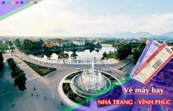 Đặt vé máy bay giá rẻ Nha Trang đi Vĩnh Phúc Vé máy bay giá rẻ Nha Trang đi Vĩnh Phúc