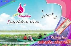 Đặt vé máy bay giá rẻ Phú Quốc đi Đồng Tháp Vé máy bay giá rẻ Phú Quốc đi Đồng Tháp