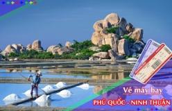 Đặt vé máy bay giá rẻ Phú Quốc đi Ninh Thuận Vé máy bay giá rẻ Phú Quốc đi Ninh Thuận