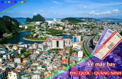 Đặt vé máy bay giá rẻ Phú Quốc đi Quảng Ninh Vé máy bay giá rẻ Phú Quốc đi Quảng Ninh