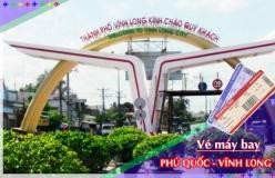 Đặt vé máy bay giá rẻ Phú Quốc đi Vĩnh Long Vé máy bay giá rẻ Phú Quốc đi Vĩnh Long