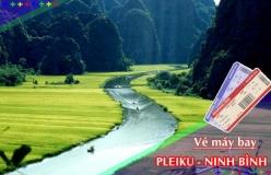 Đặt vé máy bay giá rẻ Pleiku đi Ninh Bình Vé máy bay giá rẻ Pleiku đi Ninh Bình