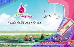 Đặt vé máy bay giá rẻ Quy Nhơn đi Đồng Tháp Vé máy bay giá rẻ Quy Nhơn đi Đồng Tháp