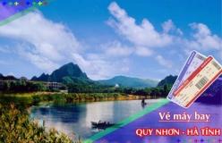 Đặt vé máy bay giá rẻ Quy Nhơn đi Hà Tĩnh Vé máy bay giá rẻ Quy Nhơn đi Hà Tĩnh