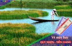 Đặt vé máy bay giá rẻ Quy Nhơn đi Tiền Giang Vé máy bay giá rẻ Quy Nhơn đi Tiền Giang
