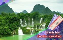 Đặt vé máy bay giá rẻ Sài Gòn đi Cao Bằng Vé máy bay giá rẻ Sài Gòn đi Cao Bằng
