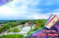 Đặt vé máy bay giá rẻ Sài Gòn đi Phú Thọ Vé máy bay giá rẻ Sài Gòn đi Phú Thọ