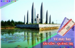 Đặt vé máy bay giá rẻ Sài Gòn đi Quảng Trị Vé máy bay giá rẻ Sài Gòn đi Quảng Trị
