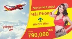 Vé máy bay giá rẻ Sài Gòn Hải Phòng của Vietjet Air
