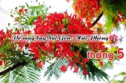 Vé máy bay giá rẻ Sài Gòn Hải Phòng tháng 5/2017 Vé máy bay giá rẻ Sài Gòn Hải Phòng tháng 5
