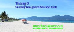 Vé máy bay giá rẻ Sài Gòn Vinh tháng 6 đang có khuyến mãi Vé máy bay giá rẻ Sài Gòn Vinh tháng 6