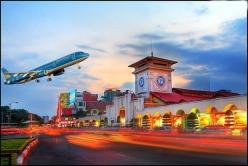 Vé máy bay giá rẻ đi Sài Gòn của Vietnam Airlines