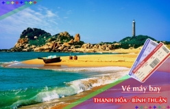 Đặt vé máy bay giá rẻ Thanh Hóa đi Bình Thuận Vé máy bay giá rẻ Thanh Hóa đi Bình Thuận