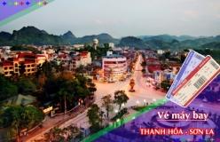 Đặt vé máy bay giá rẻ Thanh Hóa đi Sơn La Vé máy bay giá rẻ Thanh Hóa đi Sơn La