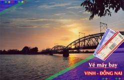 Đặt vé máy bay giá rẻ Vinh đi Đồng Nai Vé máy bay giá rẻ Vinh đi Đồng Nai