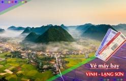 Đặt vé máy bay giá rẻ Vinh đi Lạng Sơn Vé máy bay giá rẻ Vinh đi Lạng Sơn