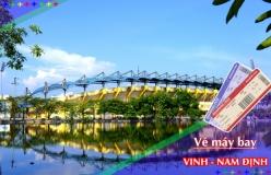 Đặt vé máy bay giá rẻ Vinh đi Nam Định Vé máy bay giá rẻ Vinh đi Nam Định