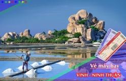 Đặt vé máy bay giá rẻ Vinh đi Ninh Thuận Vé máy bay giá rẻ Vinh đi Ninh Thuận
