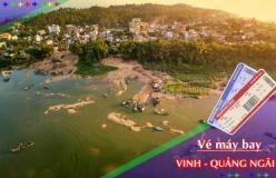 Đặt vé máy bay giá rẻ Vinh đi Quảng Ngãi Vé máy bay giá rẻ Vinh đi Quảng Ngãi