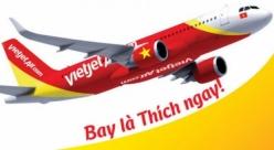 Vé máy bay giá rẻ Vinh đi Rạch Giá của Vietjet Air
