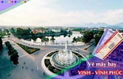 Đặt vé máy bay giá rẻ Vinh đi Vĩnh Phúc Vé máy bay giá rẻ Vinh đi Vĩnh Phúc