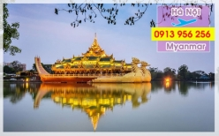 Đặt mua vé máy bay Hà Nội đi Myanmar Vé máy bay Hà Nội đi Myanmar