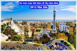 Đặt mua vé máy bay Sài Gòn đi Tây Ban Nha Vé máy bay Sài Gòn đi Tây Ban Nha